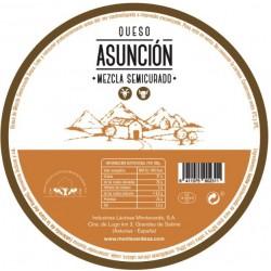 Queso Asunción de 3,150 Kg...
